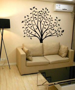 adhesivo arbol pared